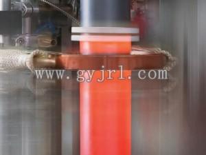 金屬粉末噴涂熱熔合感應加(jia)熱爐