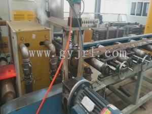 800KW推(tui)土機刀板調質感應加(jia)熱爐