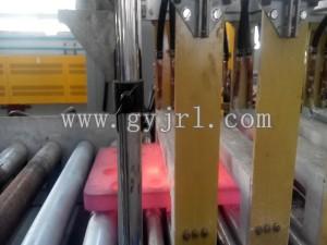 500KW刀角板調質感應加(jia)熱爐