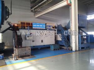 500KW搓板上料機自動續(xu)料鍛造加(jia)熱爐