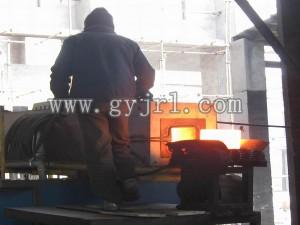 500KW120mmX120mm鋼坯鍛造加(jia)熱爐