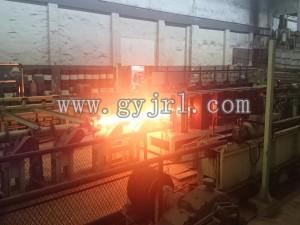2500KW不銹鋼管(guan)坯補(bu)溫感應加(jia)熱爐