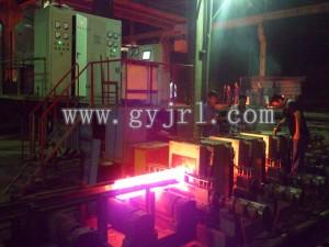 1600KW120連(lian)鑄坯在線(xian)補(bu)溫感應加(jia)熱爐