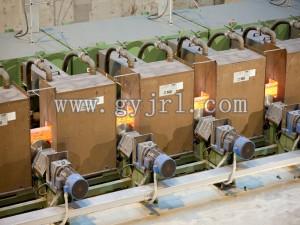 4300KW法蘭軋制感應加(jia)熱爐