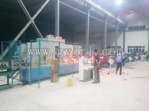 1200KW不銹鋼板材軋制感應加(jia)熱爐